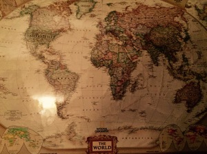 National Geographic_World Map_thewunderbug