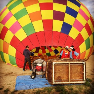 Taos_New Mexico_Balloon Ride_Champagne