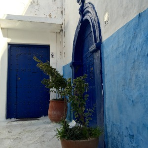 Rabat_Medina_blue door
