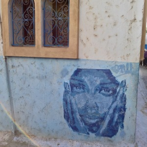 Rabat_Medina_blue lady