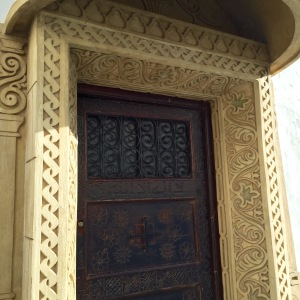 Rabat_Medina_ornate door