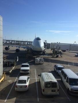 Flying to Doha