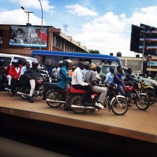 Boda traffic