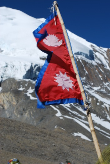 ThrongLaPass-Nepalflag